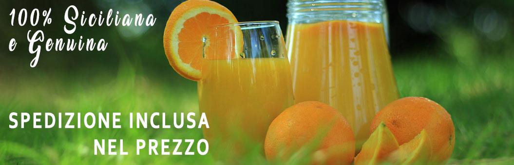 spremuta di arancia tarocco