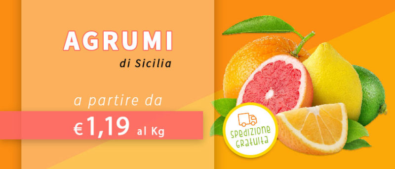 agrumi di sicilia vendita online