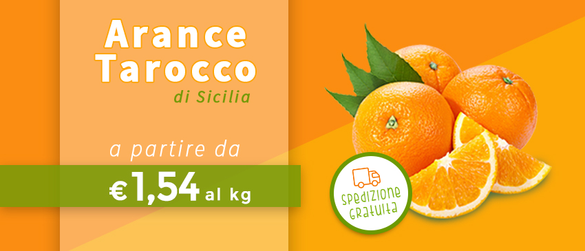 vendita arance tarocco